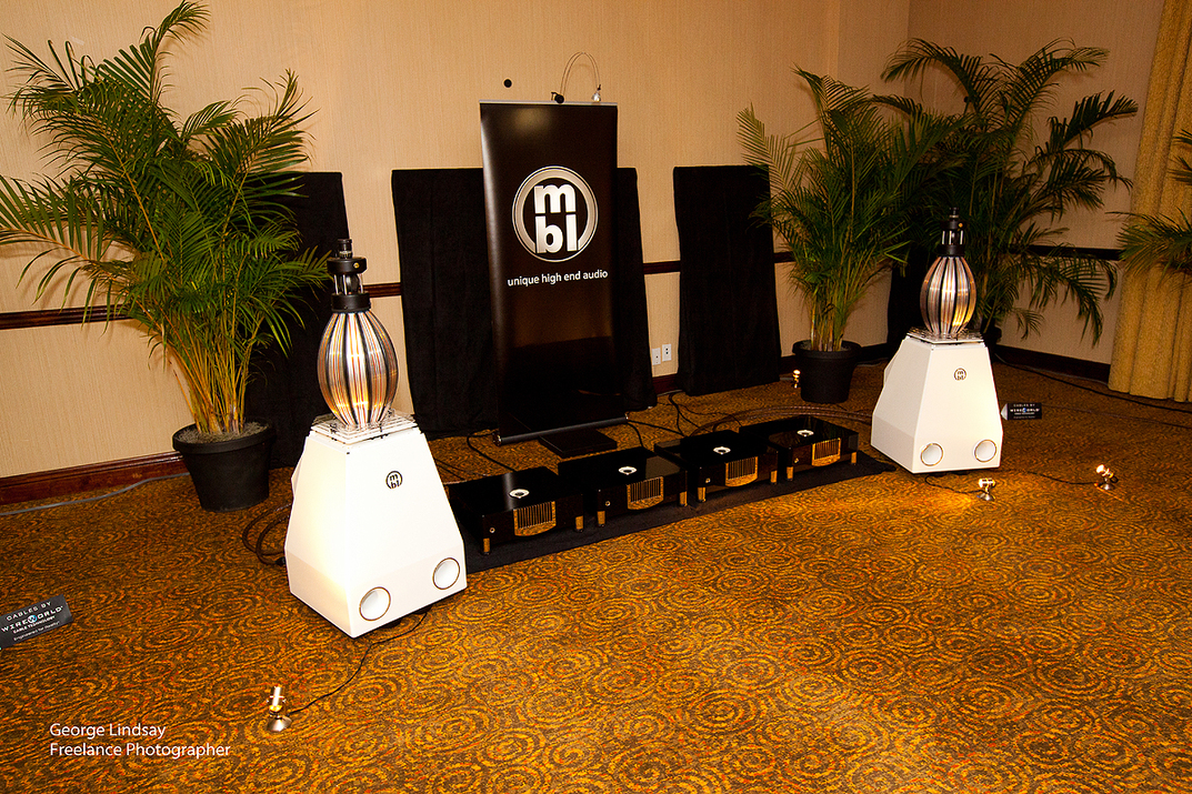 mbl unique high end audio at the Florida Audio Expo